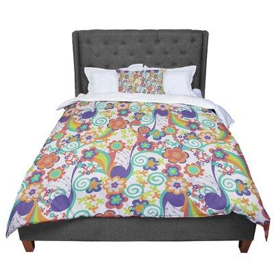Louise Machado Printemps Comforter Size: Queen