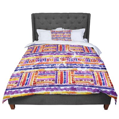 Louise Machado Tribal Comforter Size: Twin