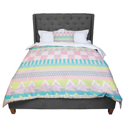 Louise Machado Luna Pattern Comforter Size: Queen