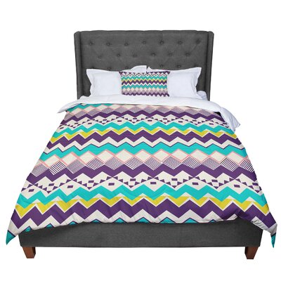 Louise Machado Ethnic Comforter Size: King