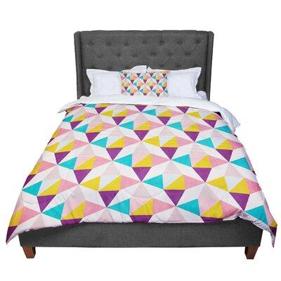 Louise Machado Amethyst Comforter Size: King
