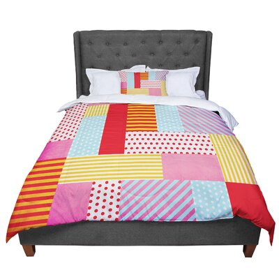 Louise Machado Geometric Pop Abstract Comforter Size: King