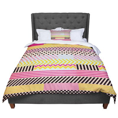 Louise Machado Decorative Tape Comforter Size: Queen