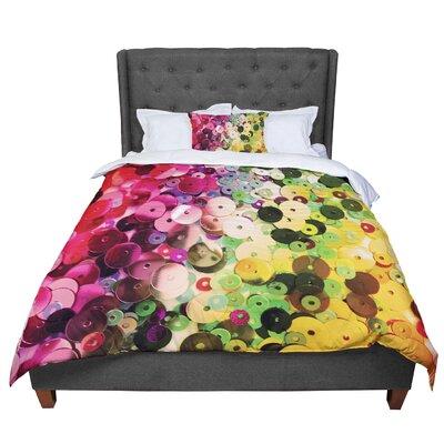 Louise Machado Spots Sparkle Comforter Size: Queen