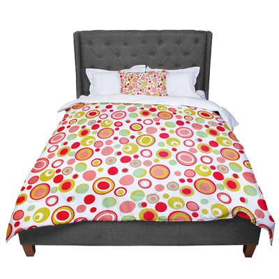 Louise Machado Bubbles Warm Circles Comforter Size: Twin
