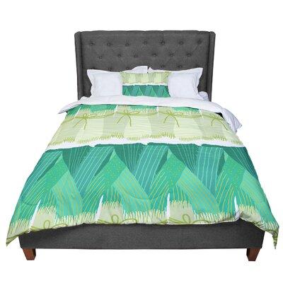 Laura Nicholson Leeks Comforter Size: Twin