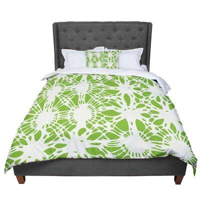Laura Nicholson Drawnwork Comforter Size: Queen