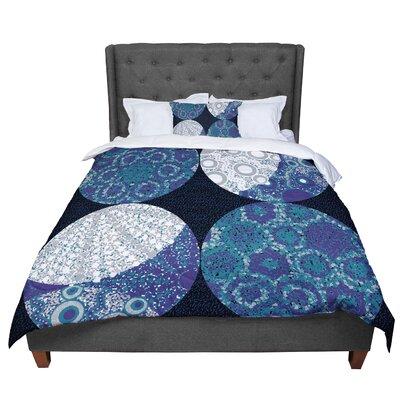 Laura Nicholson Moons Comforter Size: Queen