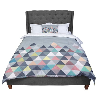 Mareike Boehmer Nordic Combination Abstract Comforter Size: King
