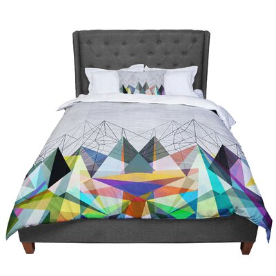 Mareike Boehmer Colorflash 3X Rainbow Comforter Size: Twin