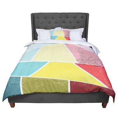 MaJoBV Cartagena Balconies Comforter Size: Queen