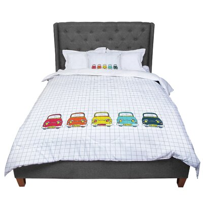 MaJoBV Boys Rock Cars Comforter Size: Queen