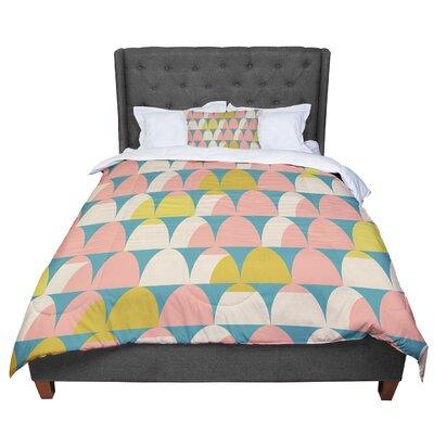 Michelle Drew Scallops Comforter Size: Queen