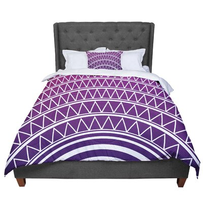 Matt Eklund Portal Comforter Size: Twin, Color: Purple