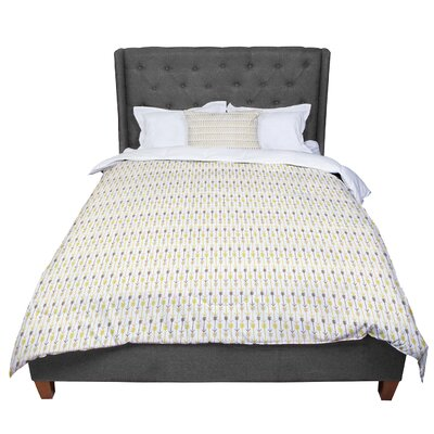Petit Griffin Golden Arrows Comforter Size: Queen