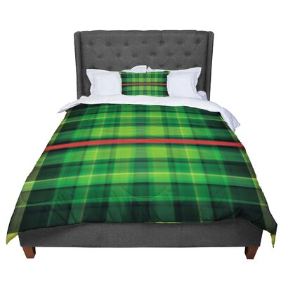 Matthias Hennig Tartan Comforter Size: Twin