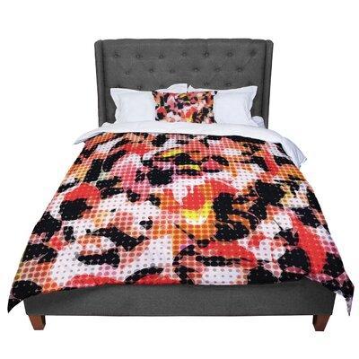 Matthias Hennig Camouflage Grid Comforter Size: Twin