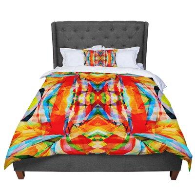 Matthias Hennig Motley Comforter Size: King