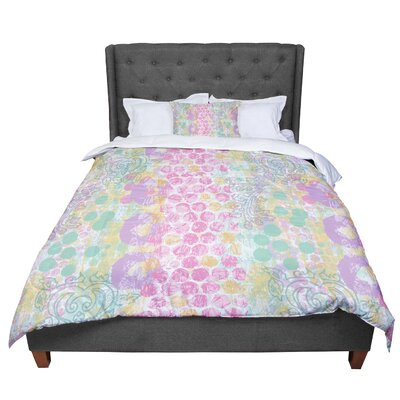 Chickaprint Impression Pastel Mix Comforter Size: Twin