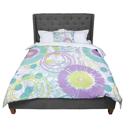 Chickaprint Splatter Comforter Size: Twin