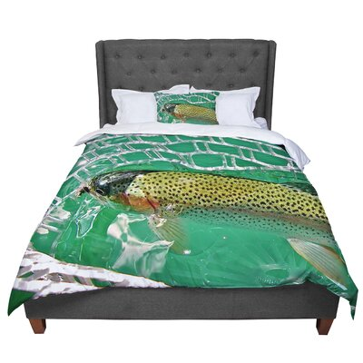 Maynard Logan Catch Comforter Size: King