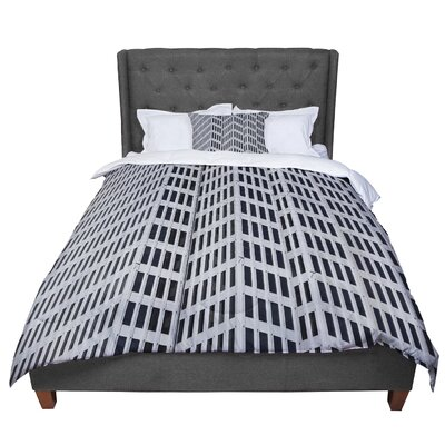 Maynard Logan The Grid Comforter Size: King