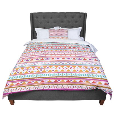 Nika Martinez Native Bandana Comforter Size: King