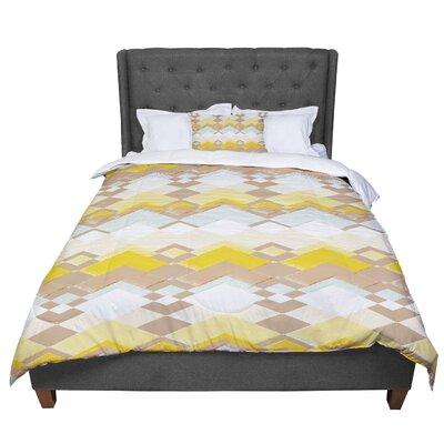 Nika Martinez Retro Desert Comforter Size: Queen