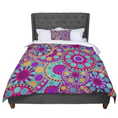 Nika Martinez Valencia Comforter Size: Queen