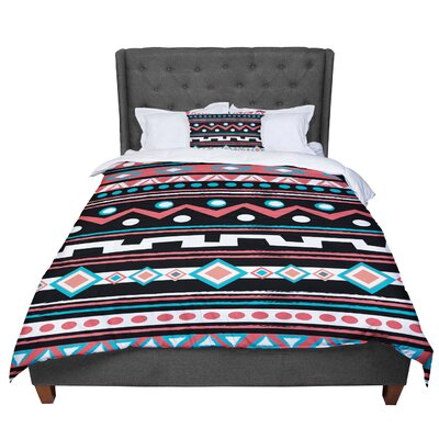 Nika Martinez Tipi Tribal Comforter Size: Queen