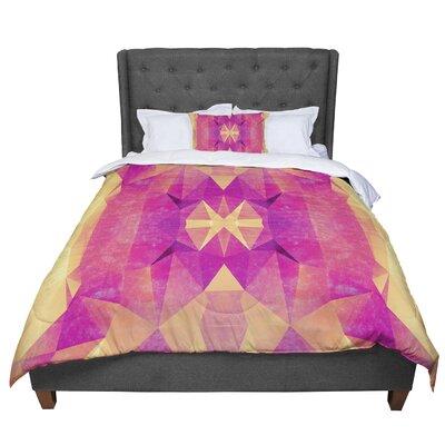 Nika Martinez Retro Geometrie Comforter Size: Twin