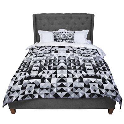Nika Martinez Geometrie Comforter Size: Twin