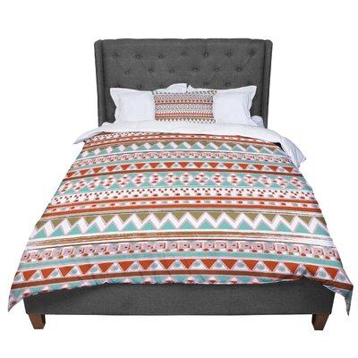 Nika Martinez Boho Mallorca Comforter Size: Queen