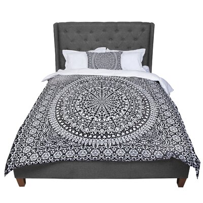 Nika Martinez Mandala Bandana Abstract Comforter Size: Queen