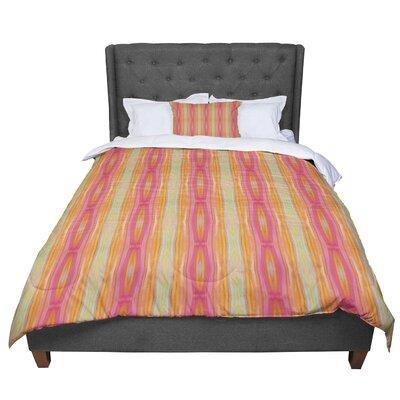Nika Martinez Summer Tie Dye Comforter Size: King