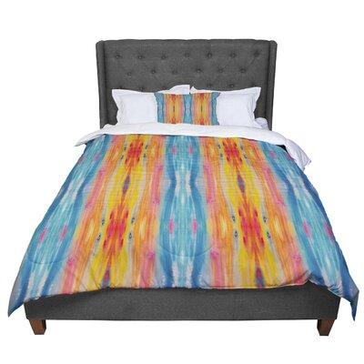 Nika Martinez Boho Tie Dye Comforter Size: Twin