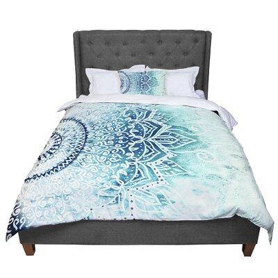 Nika Martinez Mina Mandala Geometric Comforter Size: Queen