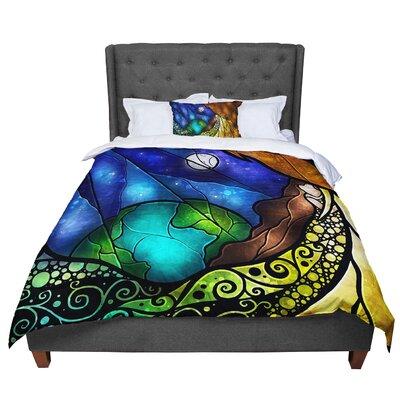 Mandie Manzano Psalms Comforter Size: Twin