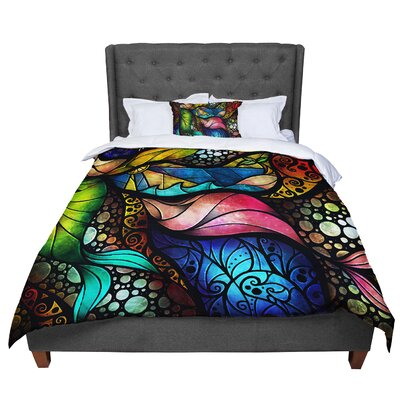 Mandie Manzano Sleep and Awake Comforter Size: Queen