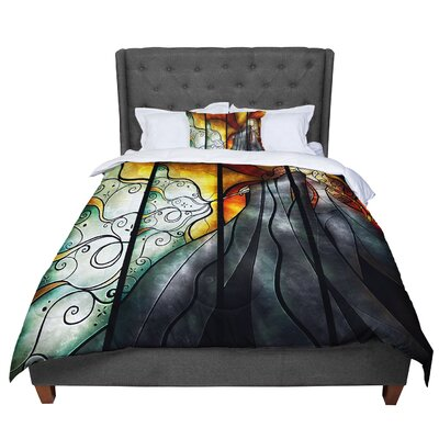 Mandie Manzano Expecto Patronum Harry Potter Comforter Size: King