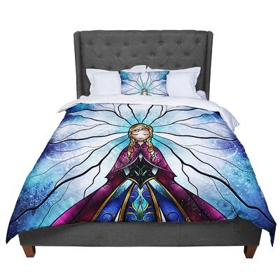 Mandie Manzano the Little Sister Frozen Comforter Size: King