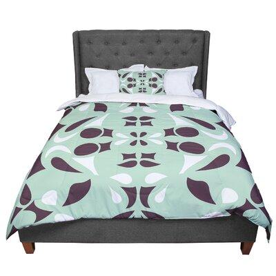 Miranda Mol Swirling Comforter Size: Twin