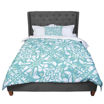 Miranda Mol Swirling Tiles Comforter Size: King