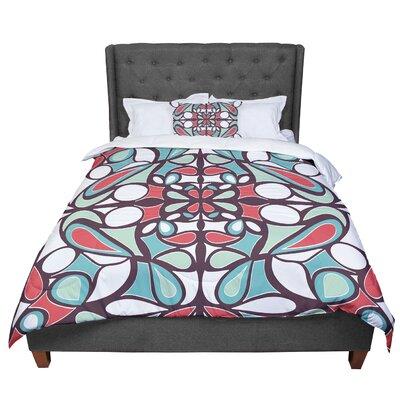 Miranda Mol Round Tiles Comforter Size: King