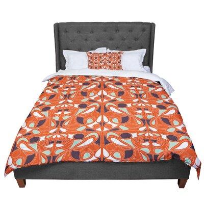Miranda Mol Swirl Kiss Comforter Size: King