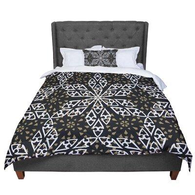 Miranda Mol Ethnical Snowflakes Comforter Size: Queen