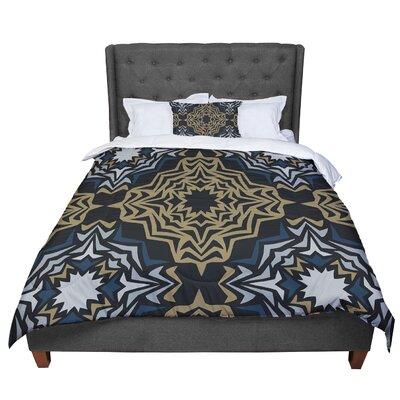 Miranda Mol Fractals Comforter Size: Queen