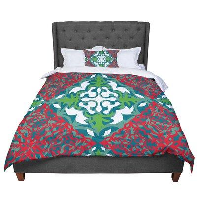 Miranda Mol Lace Flakes Comforter Size: King