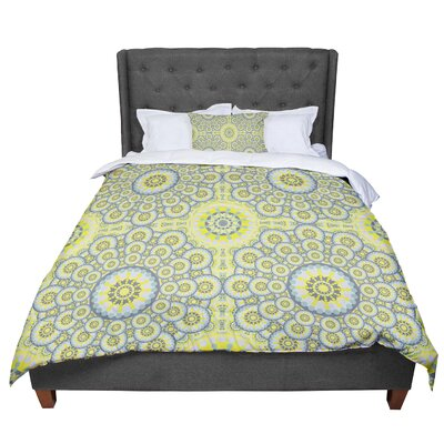 Miranda Mol Multifaceted Flowers Comforter Size: Twin