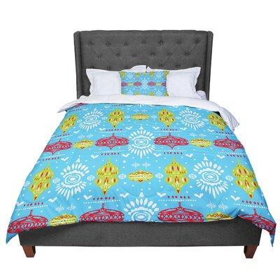 Miranda Mol Deco Row Comforter Size: King